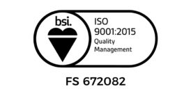 UKAS certified ISO 9001:2015 success