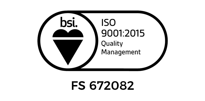 UKAS certified ISO 9001:2015 audit passed with flying colours