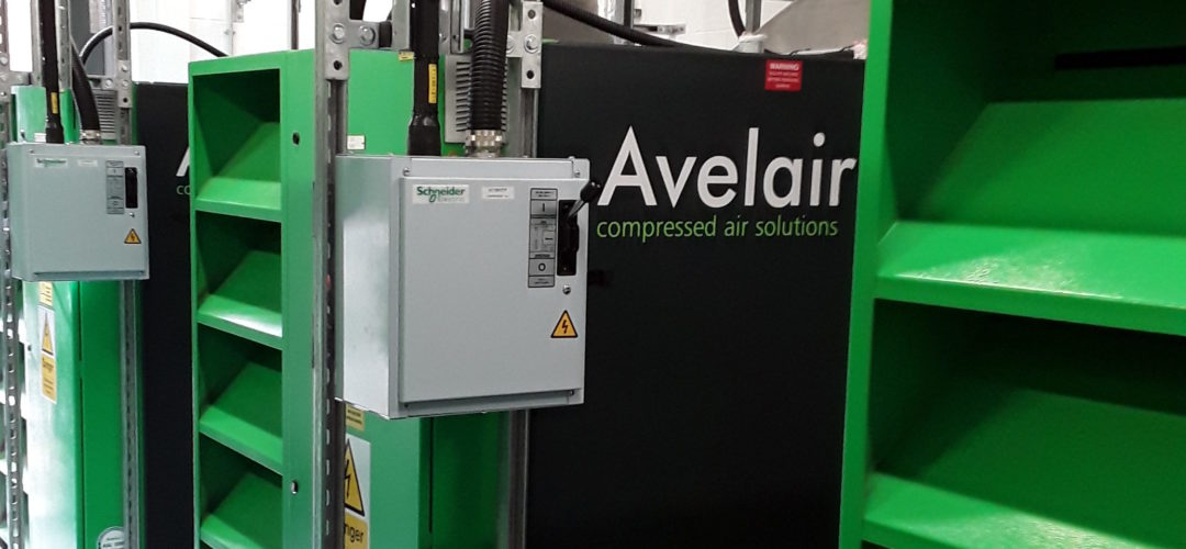 Avelair Air Compressor at Manchester University