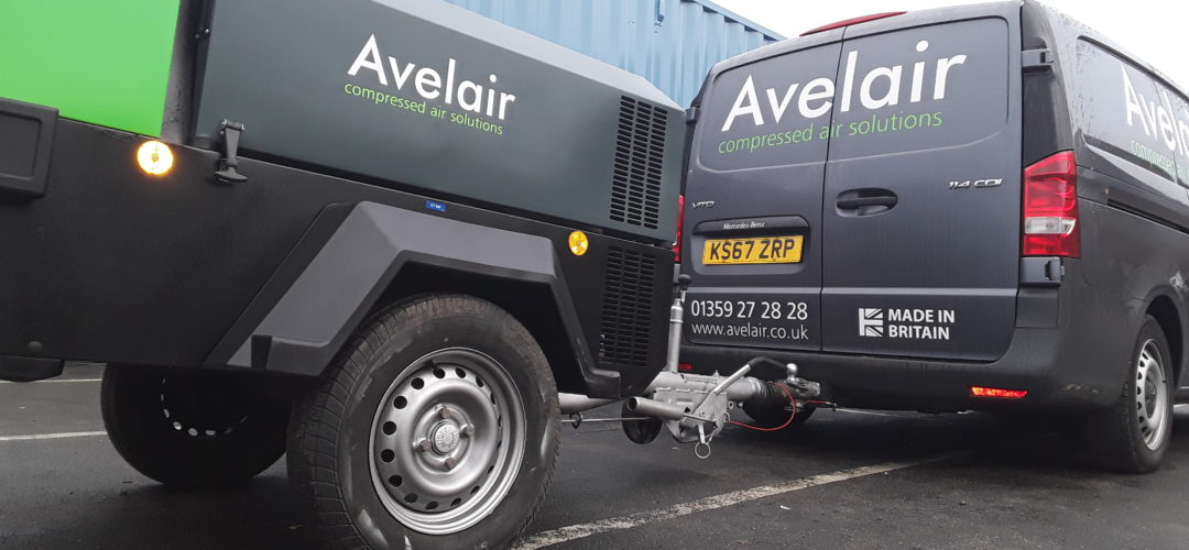 Air compressor servicing in East Anglia by Avelair