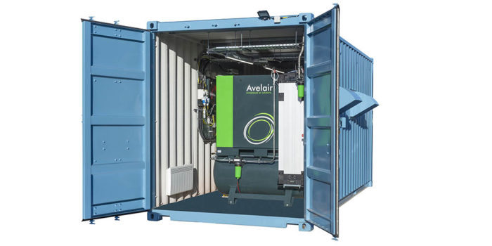 NEW – Plug & play containerised compressed air system