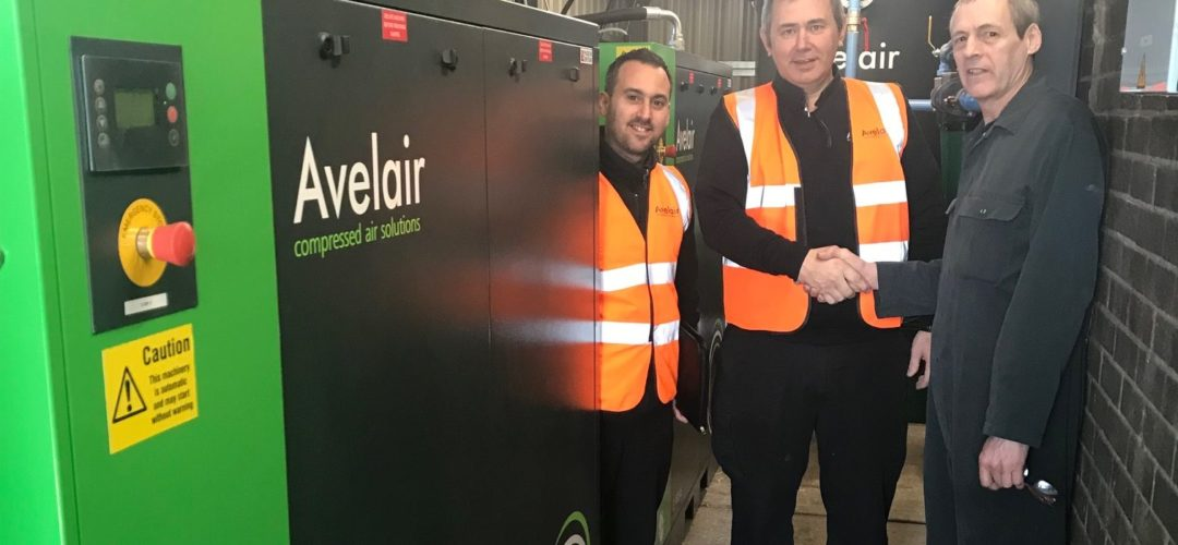 Improving air compressor efficiency for Suffolk business