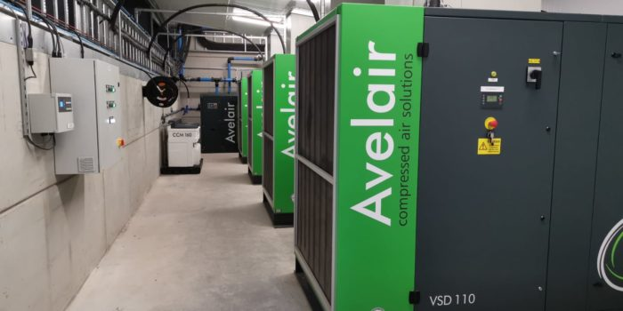 Avelair – 440kW Compressed Air Installation